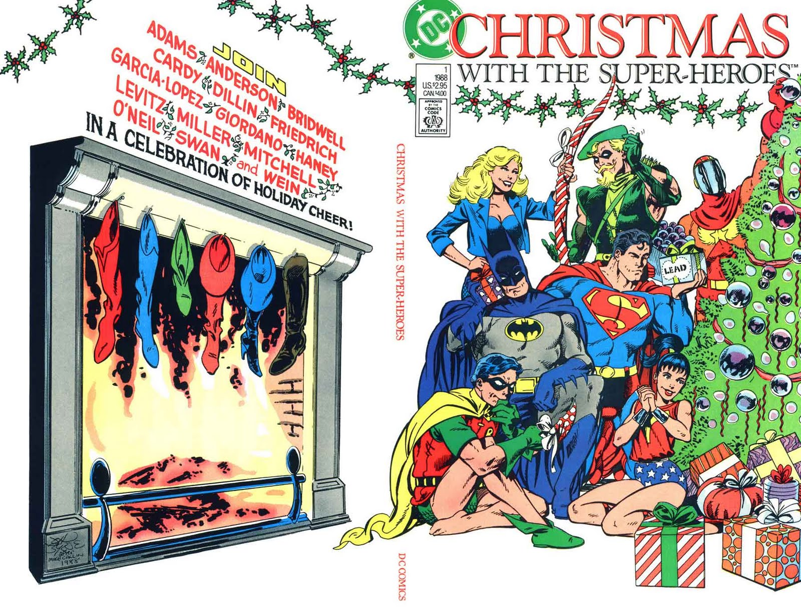 Christmas With The Super-heroes 1988