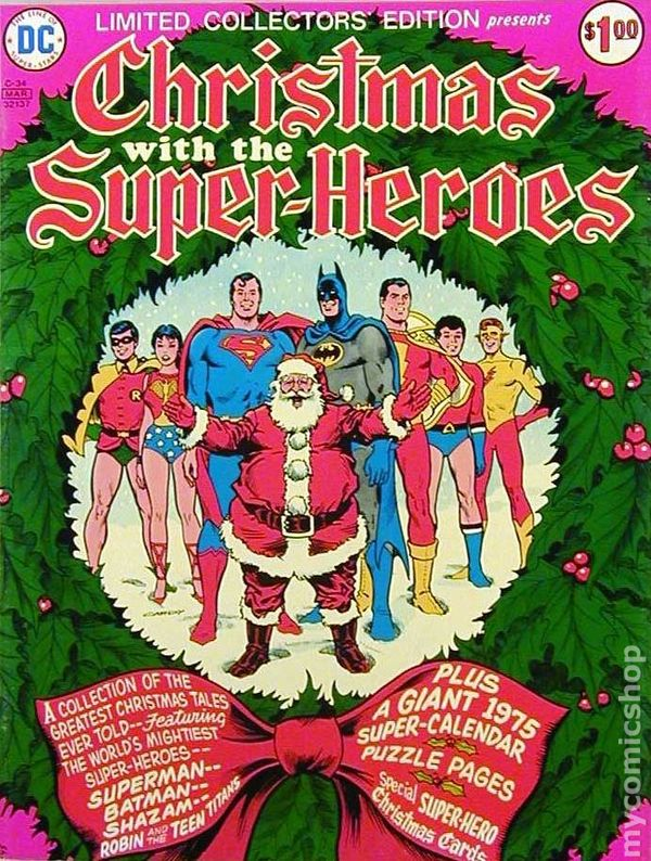Christmas With The Super-heroes C-34