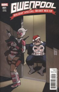 Punisher 194x300 Gwenpool: Holiday Special: Merry Mix Up