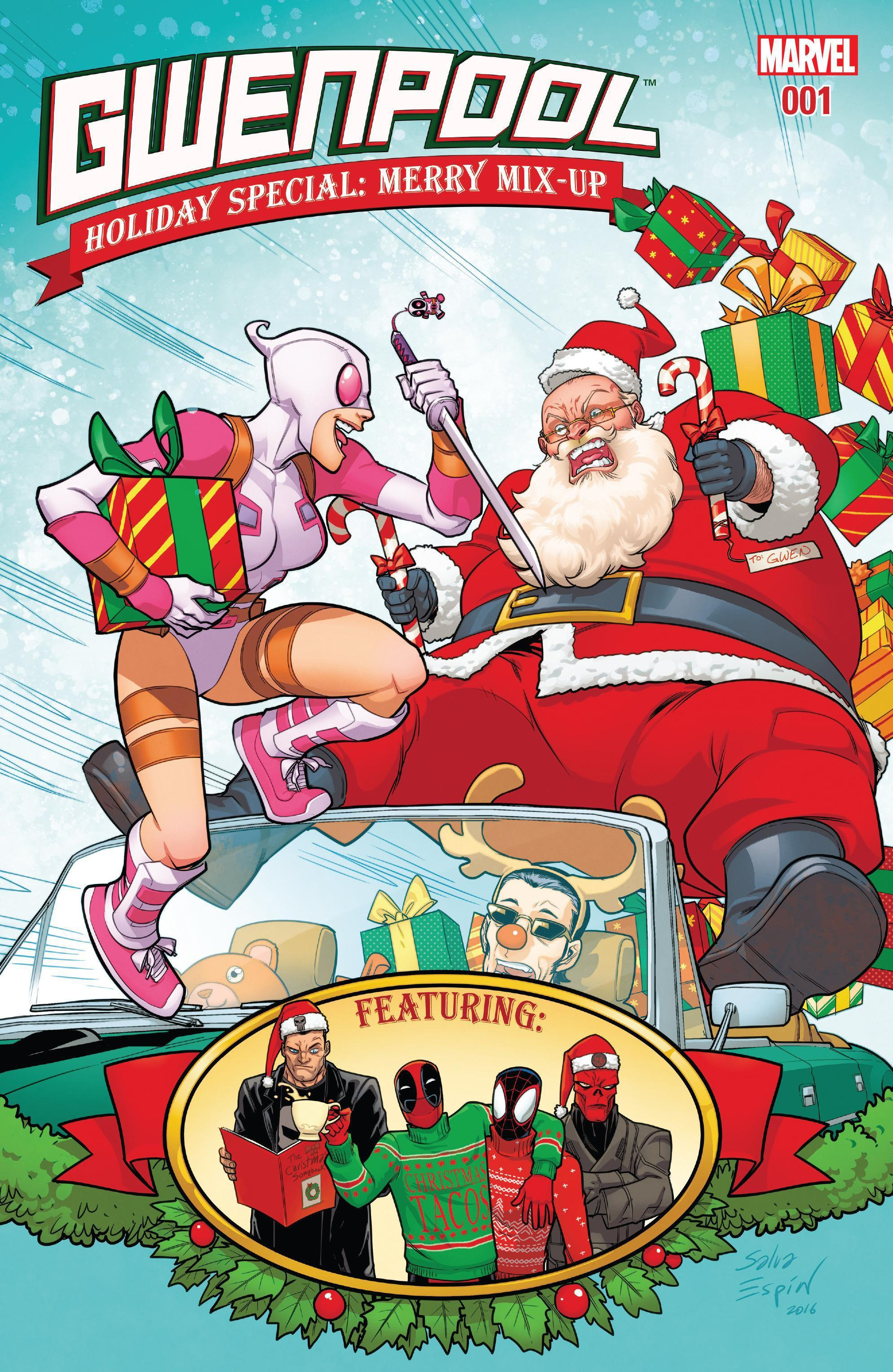 Gwenpool: Holiday Special: Merry Mix-Up Santa