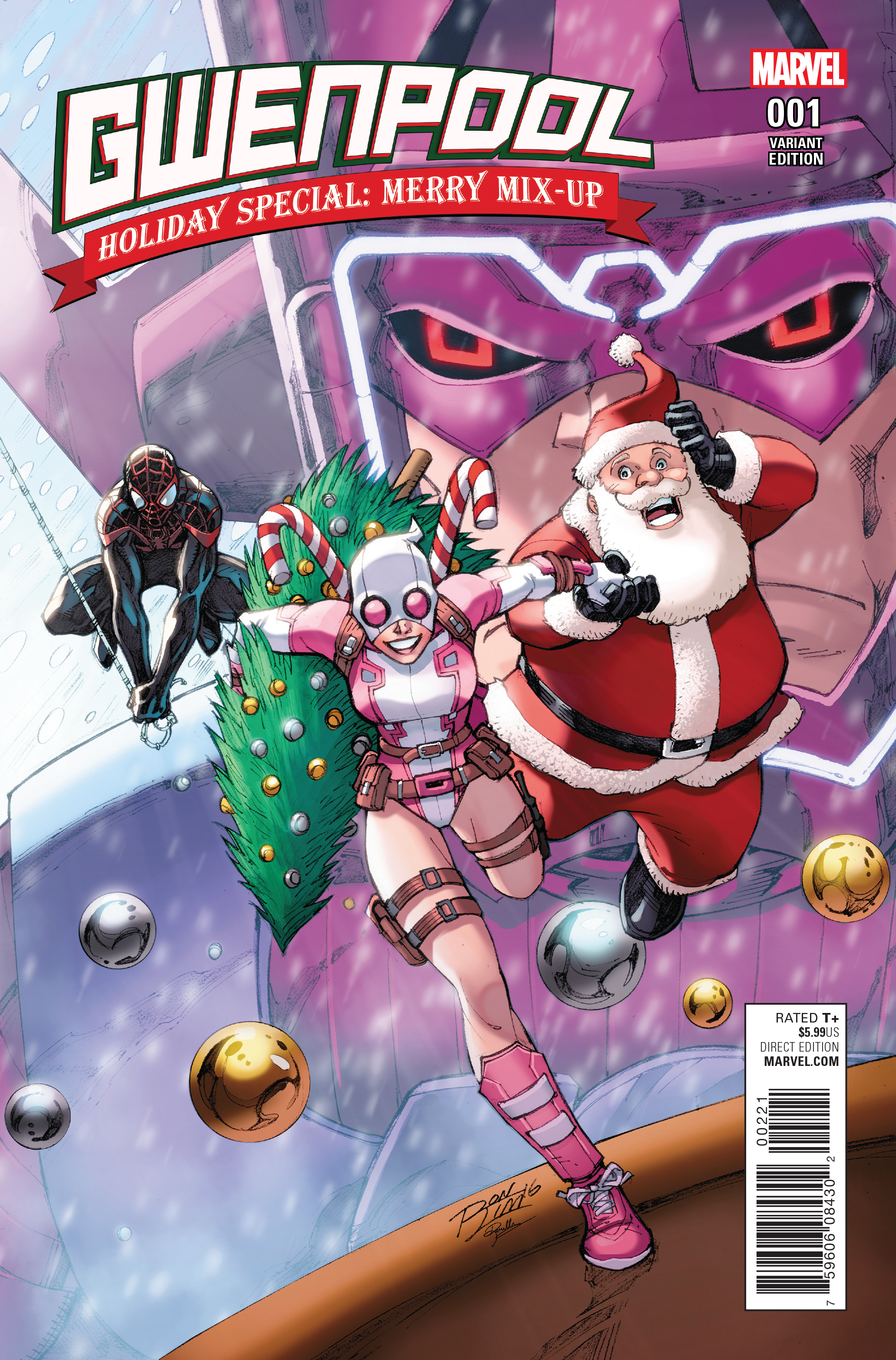 Gwenpool: Holiday Special: Merry Mix-Up Spider-man