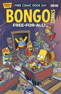 Bongo Free For All FCBD 2018 195x300 Bongo Comics Free For All
