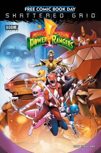 Mighty Morphin Power Rangers Shattered Grid FCBD 2018 198x300 Mighty Morphin Power Rangers Shattered Grid  FCBD 2018