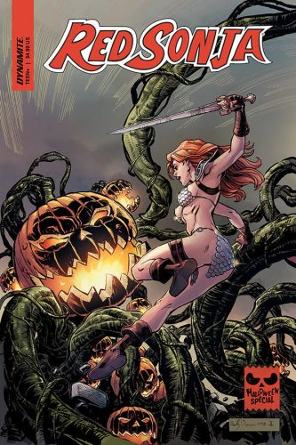 0001 2 333x500 Red Sonja Halloween Special