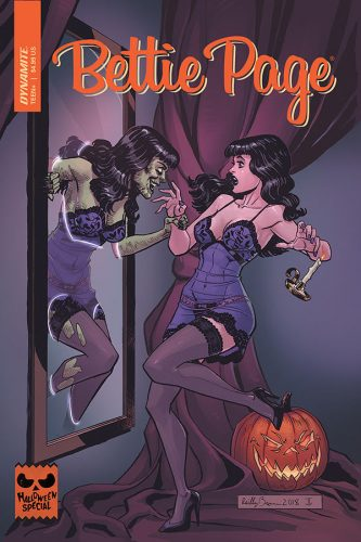 0001 3 333x500 Bettie Page Halloween Special