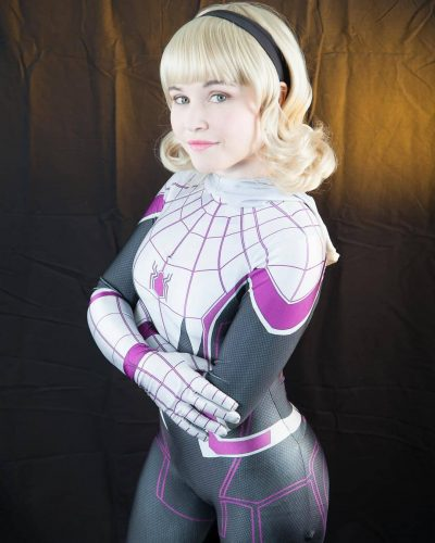 "36902481 837041599820008 5444127805119922176 n 400x500 Ashton on Instagram: ""SDCC is approaching! Tomorrow I will be posting my line up! For now here is some Spider Gwen for your Saturday night.…"""