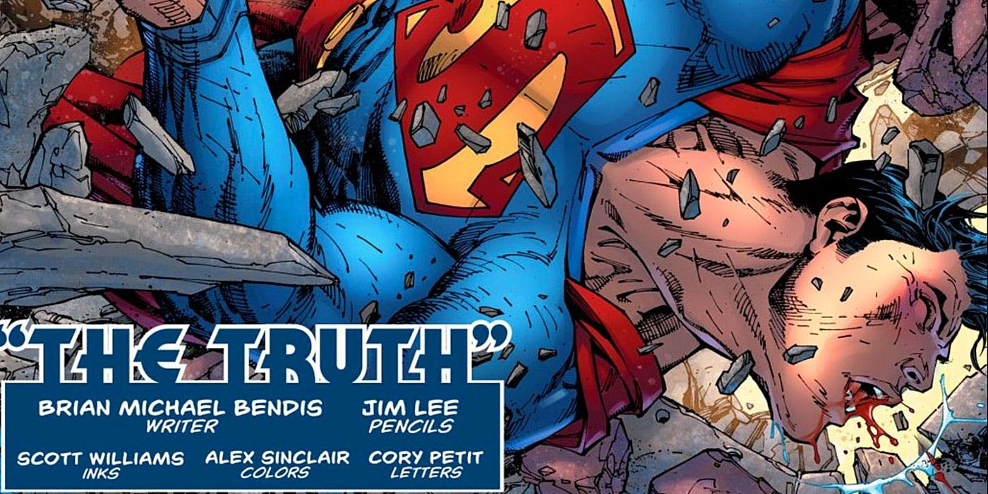 Bendis Starts His Superman Run with Major Change to Man of Steel History Bendis Starts His Superman Run with Major Change to Man of Steel History