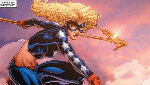 stargirl dc comics 500x283 Stargirl live action series coming to DC Universe from Geoff Johns and Greg Berlanti