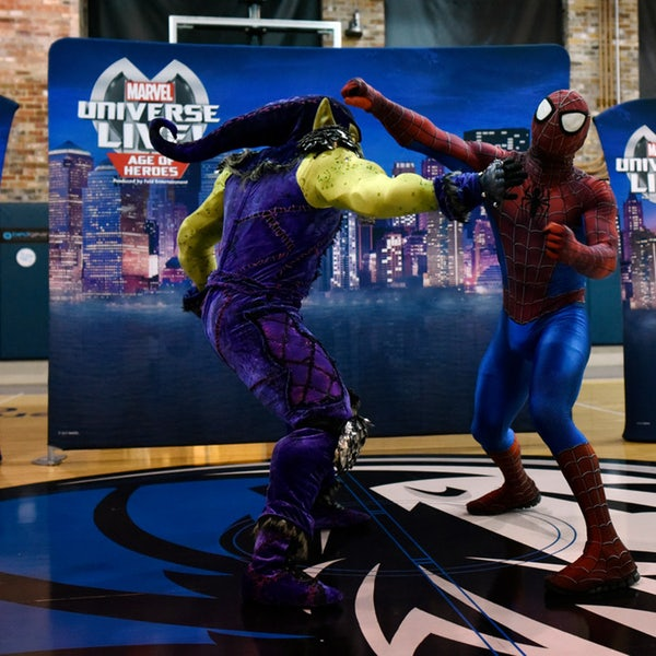 Go behind the scenes to pow, bam and thud as 'Marvel Universe Live' hits Dallas-Fort Worth Go behind the scenes to pow, bam and thud as 'Marvel Universe Live' hits Dallas-Fort Worth