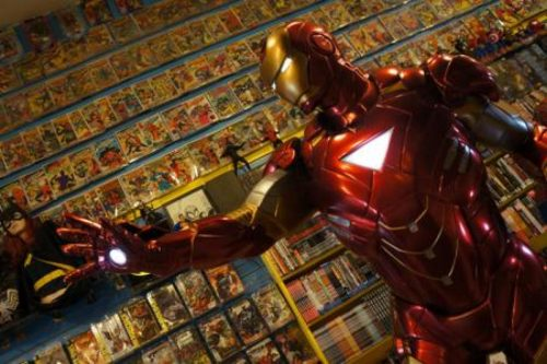 IronManComixOutpost 500x333 Tilting at Windmills #270: Pondering Whether to Close A Comic Shop