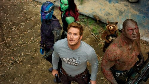guardians of the galaxy vol 2 500x283 Chris Pratt says its not an easy time for the Guardians cast since Gunns firing