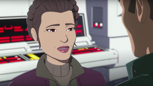 leia star wars resistance 500x283 Star Wars Resistance voice actress Rachel Butera mocks Kavanaugh accuser Christine Blasey Ford