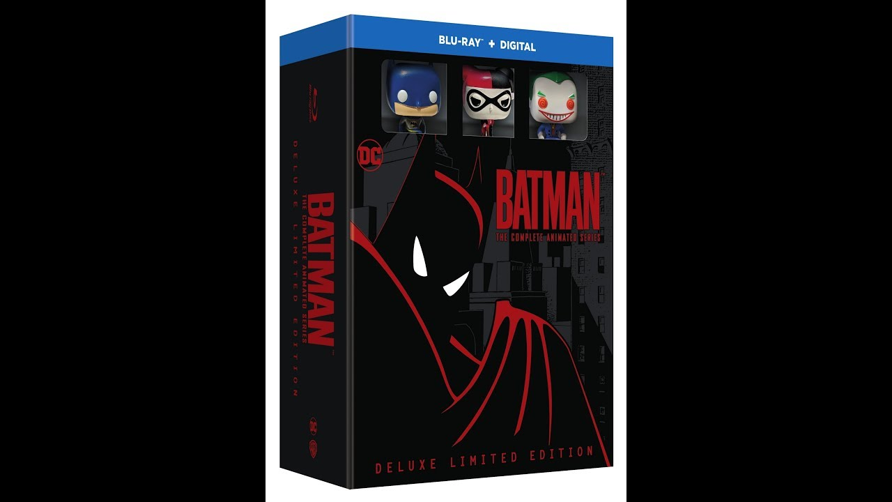Batman: The Complete Animated Series Deluxe Limited Edition – Remastered Opening Titles Batman: The Complete Animated Series Deluxe Limited Edition – Remastered Opening Titles