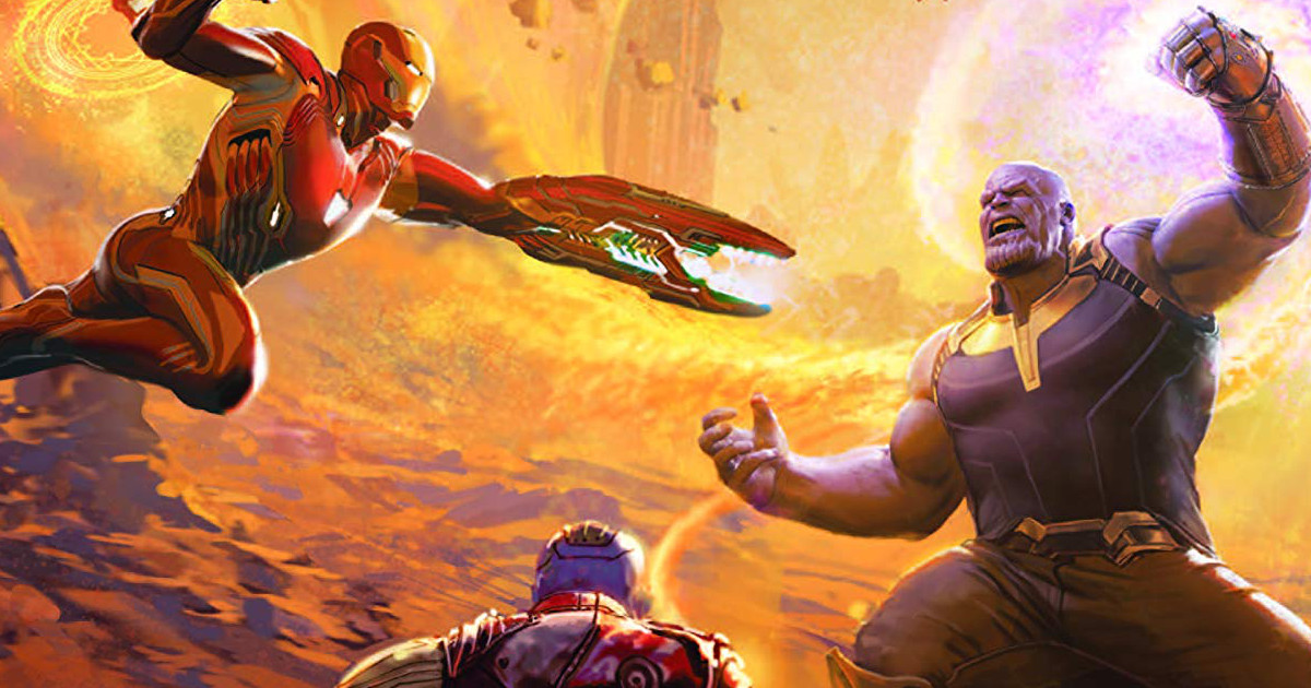 Avengers: Infinity War Art of the Movie Cover Revealed Avengers: Infinity War Art of the Movie Cover Revealed
