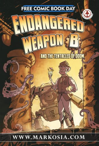 Endangered Weapon B and the Tentacles of Doom FCBD 2013 341x500 Endangered Weapon B and the Tentacles of Doom FCBD 2013