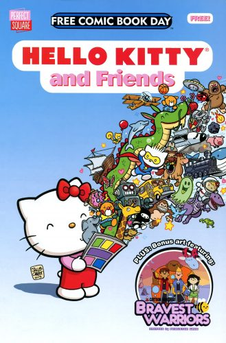 Hello Kitty and Friends FCBD 2014 329x500 Hello Kitty and Friends FCBD 2014