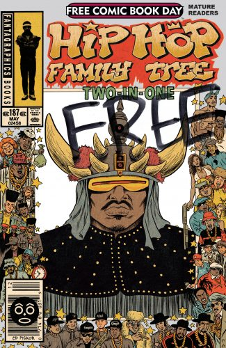 Hip Hop Family Tree Two In One FCBD 2014 325x500 Hip Hop Family Tree Two In One FCBD 2014