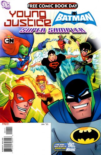 Young Justice Batman The Brave and The Bold FCBD 2011b 325x500 Young Justice  Batman  The Brave and the Bold FCBD 2011