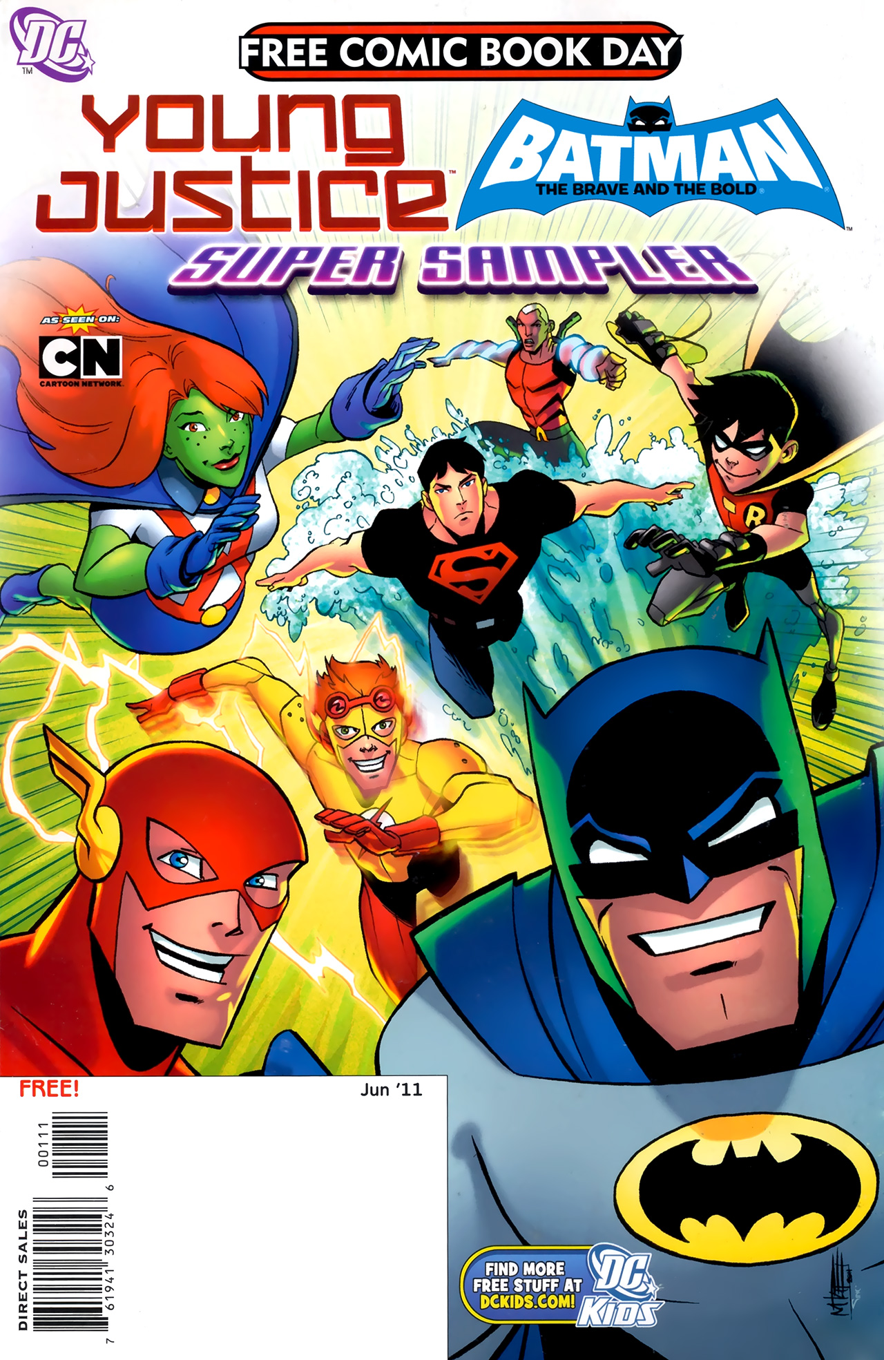 Young Justice- Batman- The Brave and the Bold FCBD 2011 Young Justice- Batman; The Brave and The Bold FCBD 2011b.jpg