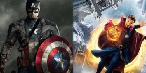 'Captain America: The First Avenger' and 'Doctor Strange' Coming to 4K Ultra HD Blu ray