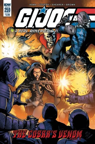 G.I. JOE A REAL AMERICAN HERO 259 329x500 Comic Review for week of February 6th, 2019