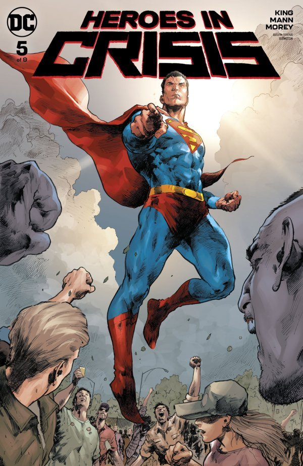 Comic Review for week of January 30, 2019 HEROES IN CRISIS #5