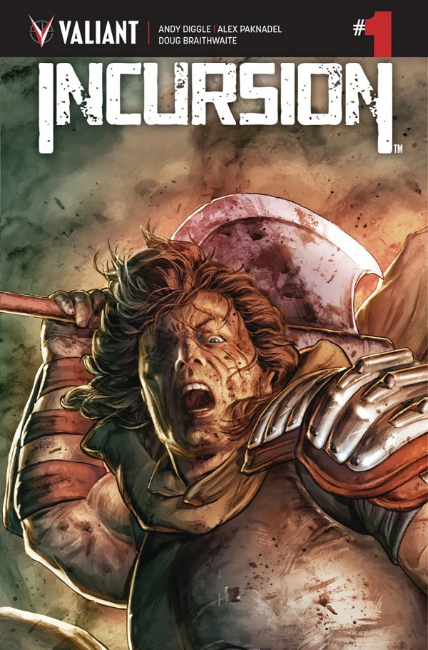 Comic Review for week of February 20th, 2019 INCURSION #1