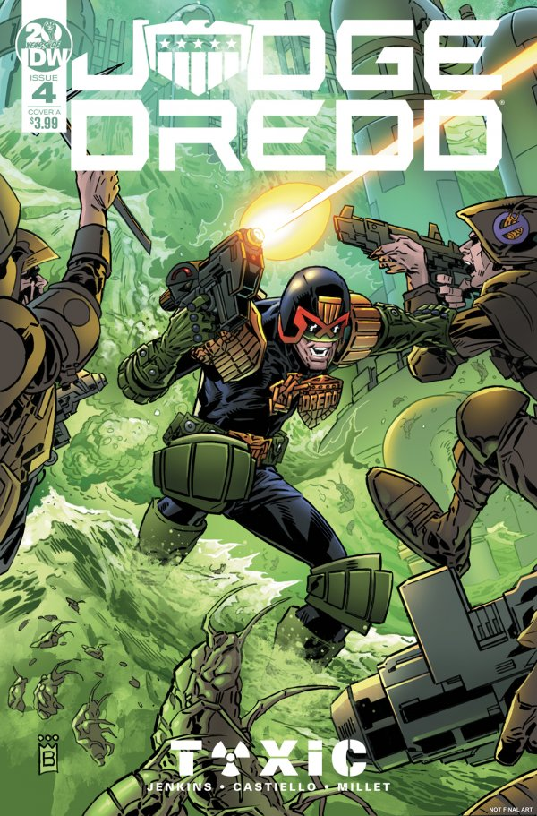 Comic Review for week of February 20th, 2019 JUDGE DREDD TOXIC #4