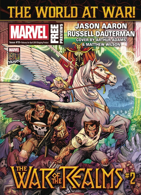 Comic Review for week of January 30, 2019 MARVEL PREVIEWS #19