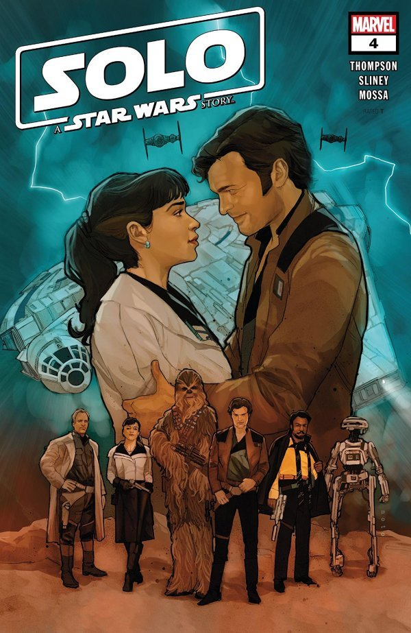 Comic Review for week of January 30, 2019 SOLO A STAR WARS STORY #4