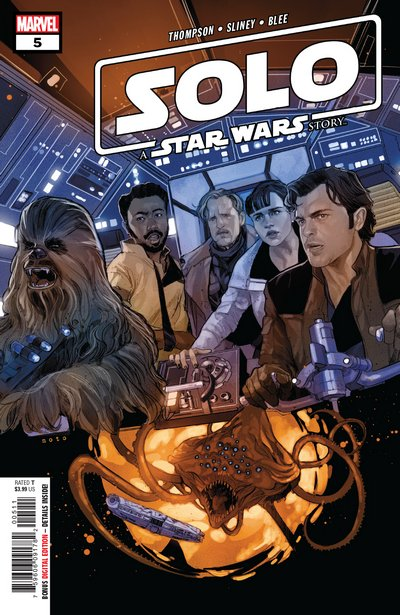 Comic Review for week of February 20th, 2019 SOLO A STAR WARS STORY #5