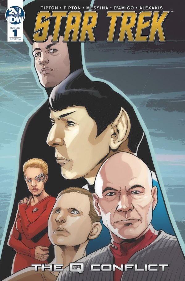 Comic Review for week of January 30, 2019 STAR TREK THE Q CONFLICT #1