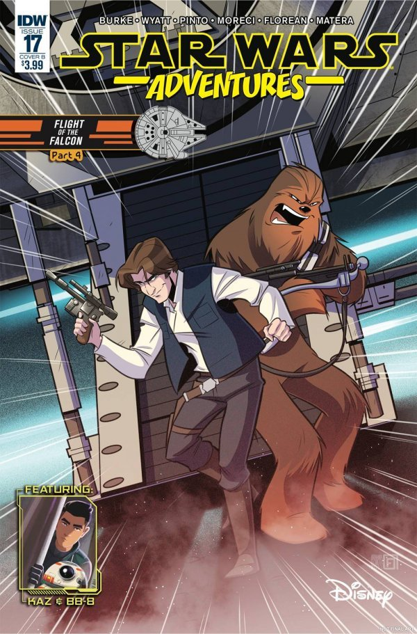 Comic Review for week of January 30, 2019 STAR WARS ADVENTURES #17 COVER B