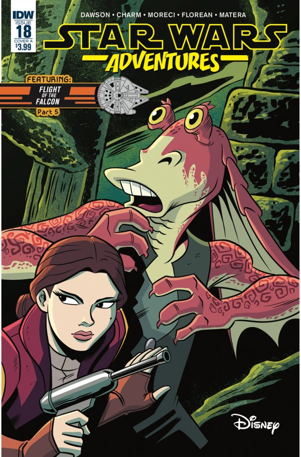Comic Review for week of February 20th, 2019 STAR WARS ADVENTURES #18