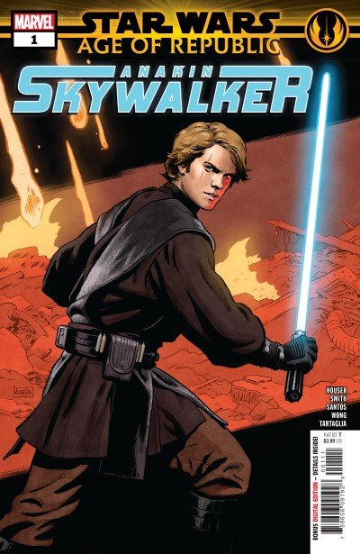 Comic Review for week of February 6th, 2019 STAR WARS AGE OF REPUBLIC – ANAKIN SKYWALKER #1