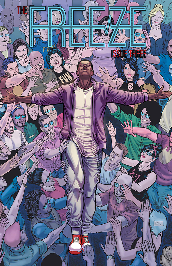 Comic Review for week of February 6th, 2019 THE FREEZE #3