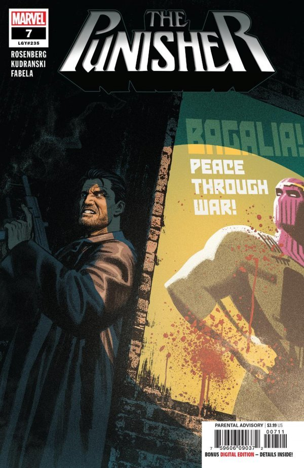 Comic Review for week of January 30, 2019 THE PUNISHER #7