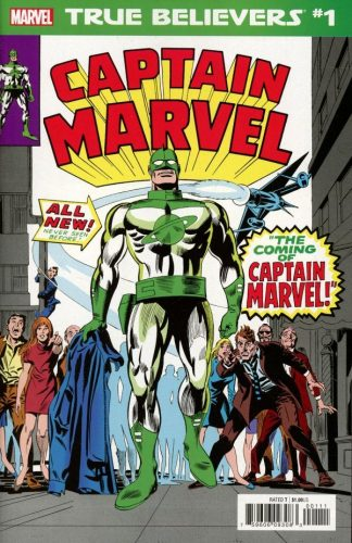TRUE BELIEVERS CAPTAIN MAR VELL 1 324x500 Comic Review for week of February 13th, 2019