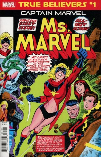 TRUE BELIEVERS CAPTAIN MARVEL MS. MARVEL 1 324x500 Comic Review for week of February 6th, 2019