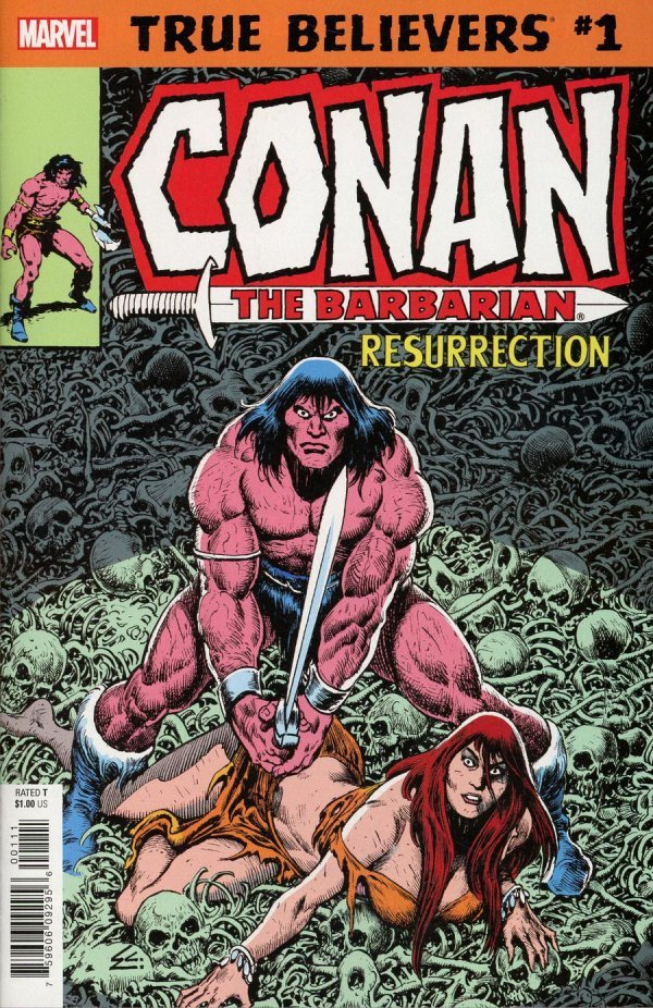 Comic Review for week of January 30, 2019 TRUE BELIEVERS CONAN – RESURRECTION #1