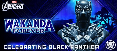 Wakanda Forever Social Brick 500x219 A Year of Free Comics: Marvel offers a  bundle of five free Black Panther comics