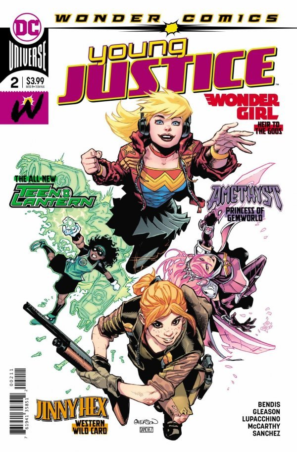 Comic Review for week of February 6th, 2019 YOUNG JUSTICE #2