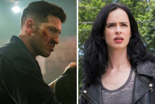 the punisher jessica jones 500x336 'The Punisher' & 'Jessica Jones' Canceled By Netflix; Latter's 3rd Season Still To Air