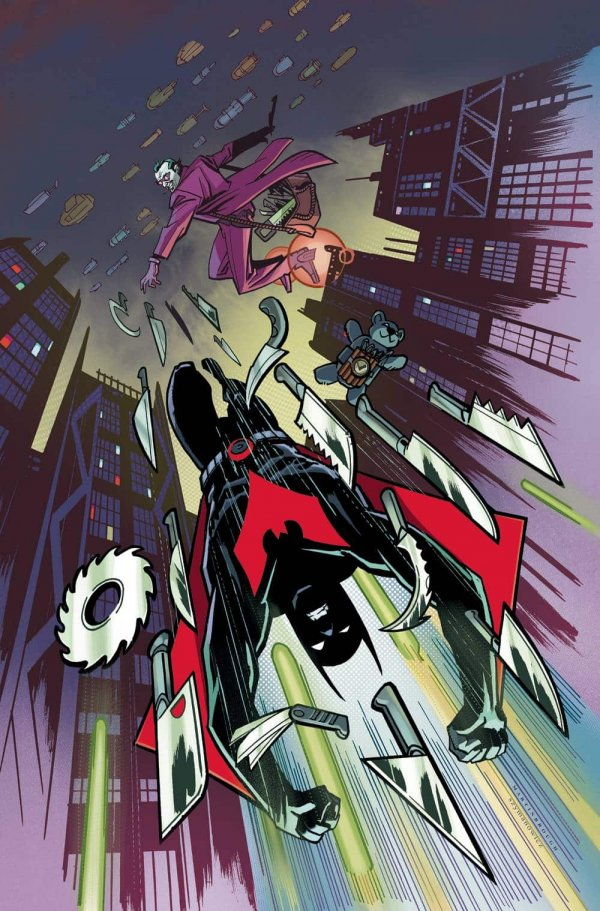 Comic Review for week of February 27th, 2019 BATMAN BEYOND #29