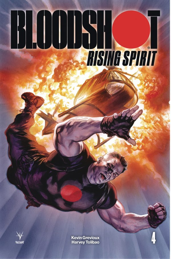 Comic Review for week of February 27th, 2019 BLOODSHOT RISING SPIRIT #4