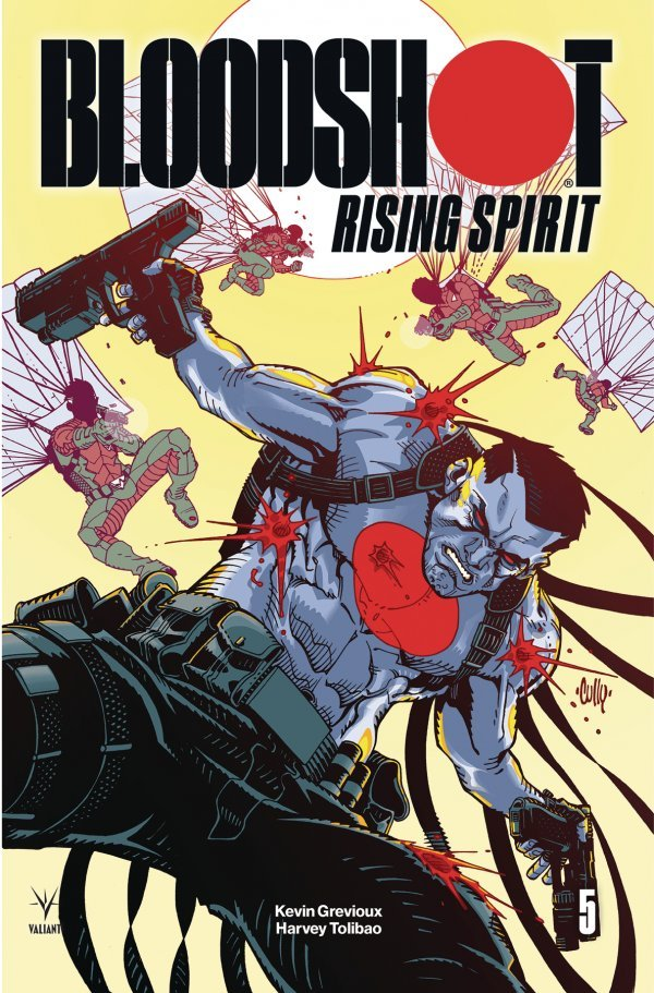 Comic Review for week of March 27th, 2019 BLOODSHOT RISING SPIRIT #5