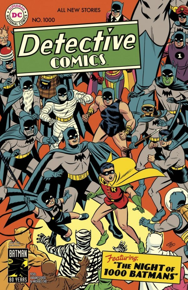 Comic Review for week of March 27th, 2019 DETECTIVE COMICS #1000
