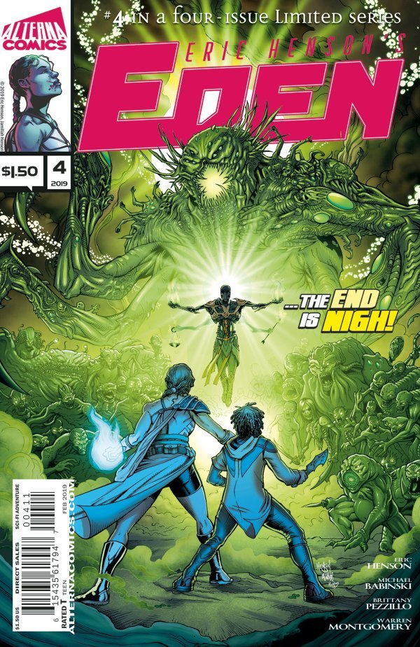 Comic Review for week of March 13th, 2019 EDEN #4
