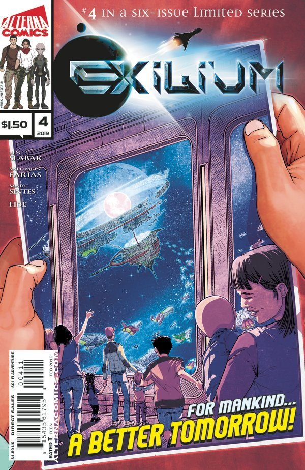 Comic Review for week of March 13th, 2019 EXILIUM #4
