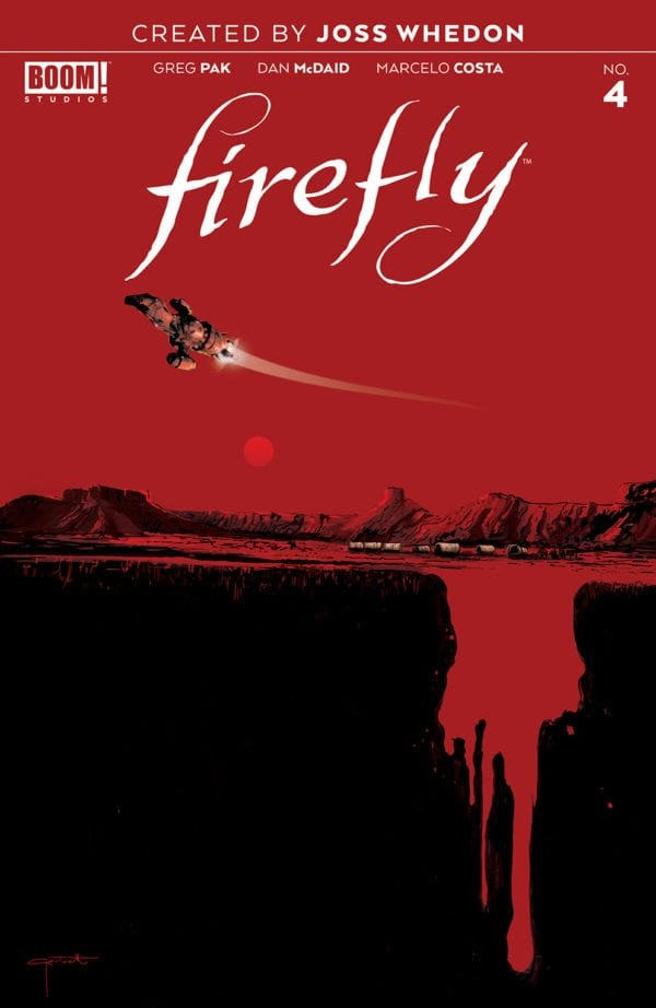Comic Review for week of February 27th, 2019 FIREFLY #4